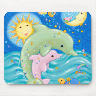 Dolphins Play Mouse Pad