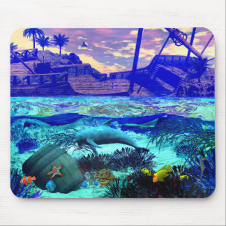 Dolphin's Playground Mouse Pad