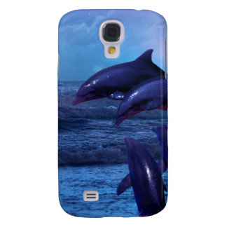 Dolphins playing in the ocean samsung galaxy s4 covers