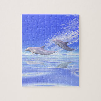 Dolphins Racing Puzzle