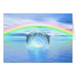 Dolphins Rainbow Healing Cards