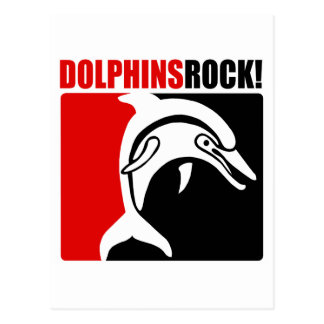 Dolphins Rock! #2 Postcard