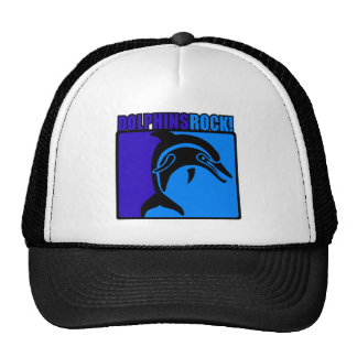 Dolphins Rock 3 Mesh Hats