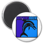 Dolphins Rock! $3 Magnets