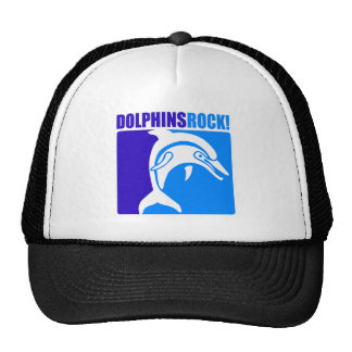Dolphins Rock 4 Hats