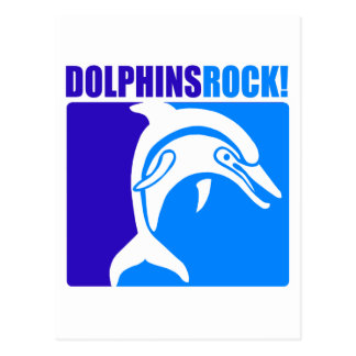 Dolphins Rock! #4 Postcard