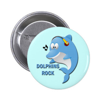DOLPHINS ROCK BUTTONS