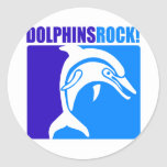 Dolphins Rock! Stickers