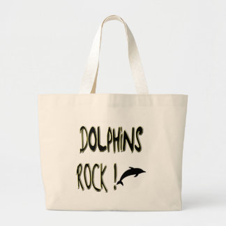 Dolphins Rock! Tote Bag