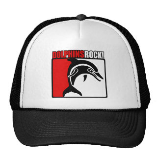Dolphins Rock! Trucker Hat