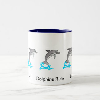 Dolphins Rule Mug