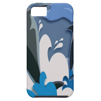 Dolphins Sea jump Swimming Funny Photo Colorful iPhone 5 Cover