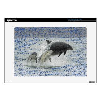 "Dolphins 15"" Laptop Skin"