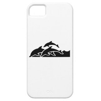 Dolphins Swimming iPhone 5 Cover
