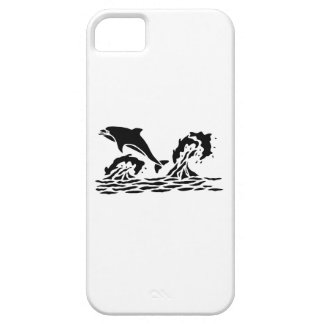 Dolphins Swimming iPhone 5 Cases