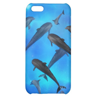 Dolphins swimming in the ocean iPhone 5C cases