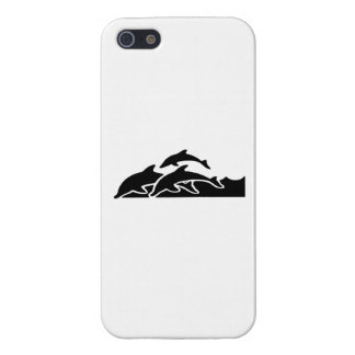 Dolphins Swimming iPhone 5/5S Covers