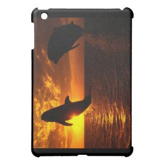 Dolphins Symphony at Sunset iPad Mini Case