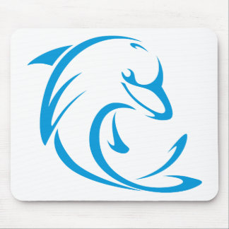 Dolphins T Shirt | Cool Dolphins T Shirt Logo Mouse Pad