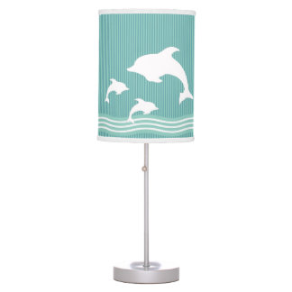 Dolphins Table Lamp