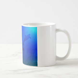 DOLPHINS UNDERWATER COFFEE MUG