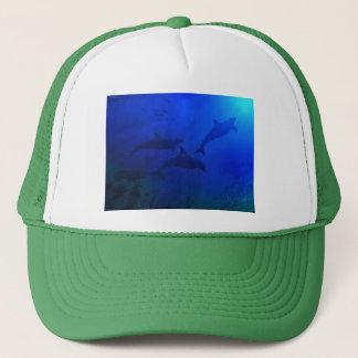 DOLPHINS UNDERWATER TRUCKER HAT