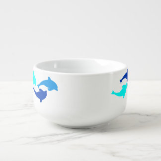 Dolphins Soup Mug