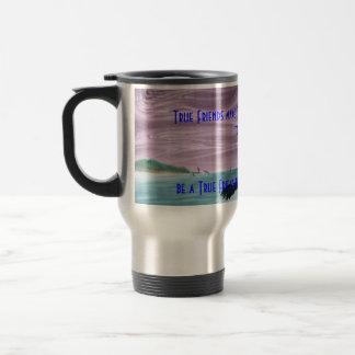 dolphinufo, True Friends make This World a Bett... Travel Mug