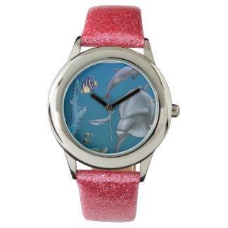 Dolpins art watch