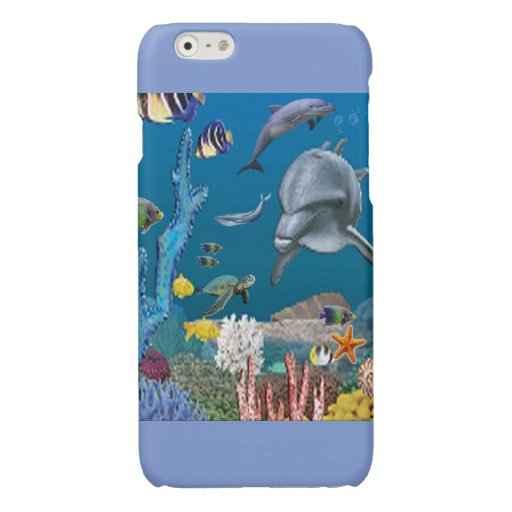 Dolpins Glossy iPhone 6 Case