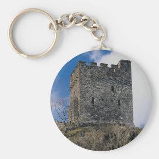 Dolwyddelan Castle, built 1200 by Llewellyn ab lor Keychain