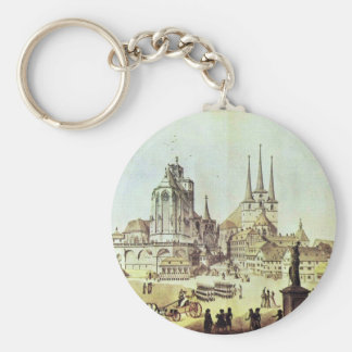 Dom And Severin Church In Erfurt Details By Ramée Key Chain