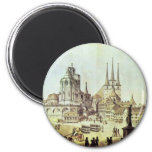 Dom And Severin Church In Erfurt Details By Ramée Fridge Magnet
