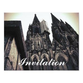"""Dom de Kölner Invitación 4.25"""" X 5.5"""""""