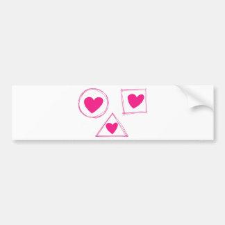 Dom Dia Dos Namorados Bumper Sticker