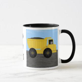 Dom Dump Truck Personalized Mug