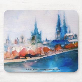 dom kölner cologne cathedral watercolor sketch tapete de raton
