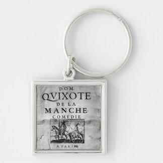 Dom Quixote de La Manche Comedie' Keychain