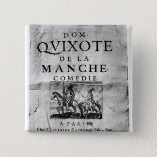 Dom Quixote de La Manche Comedie' Pinback Button
