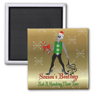 Dom Xmas Fairy 2 Inch Square Magnet