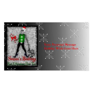 Dom Xmas Fairy Business Card Templates