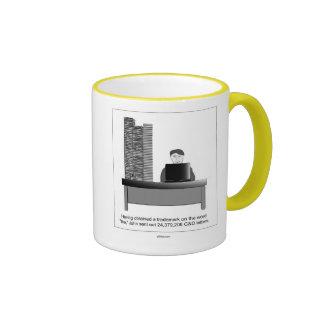 """Domain Names: Trademark on """"The"""" Ringer Mug"""