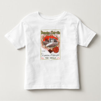Domaine De Clairville Wine LabelEurope Toddler T-shirt