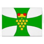 Domanin Ho Cz, Czech Republic flag Greeting Card