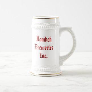 Dombek Breweries Inc., Good beer f... - Customized Beer Stein