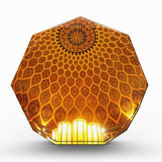 dome artwork acrylic award