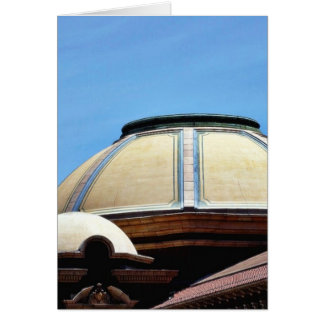 Dome At The Los Angeles Farmers Market Card