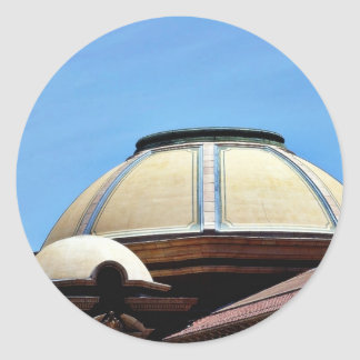 Dome At The Los Angeles Farmers Market Sticker