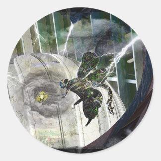 Dome Attack Classic Round Sticker