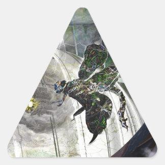 Dome Attack Triangle Sticker